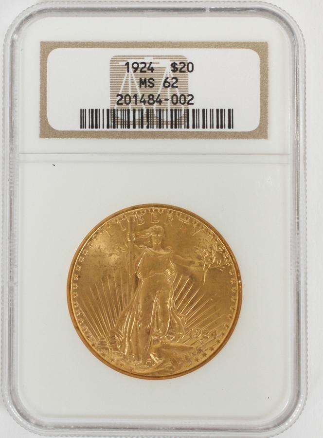 U.S.DOUBLE EAGLE $20.DOLLAR GOLD COIN