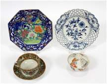 CHINESE AND JAPANESE PORCELAINS 3 PCS