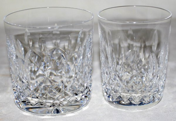 041242: WATERFORD 'LISMORE' HIGH & LOW BALL GLASSES