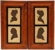 REMBRANDT PEALE HOLLOW CUT SILHOUETTES