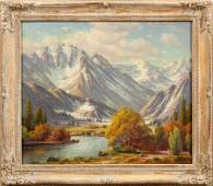PAUL GRIMM (AMER, 1891-1974), OIL ON CANVAS
