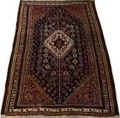SHIRAZ PERSIAN WOOL RUG W 4 7 L 6 10