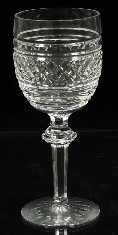 """WATERFORD """"CASTLETOWN"""" CRYSTAL WATER GOBLETS"""