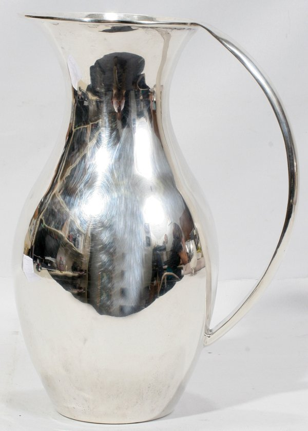 051002: MEXICAN STERLING SILVER PITCHER, C. ZURITA