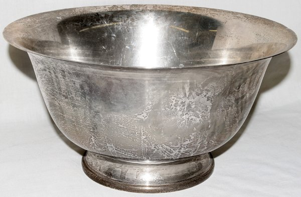 051012: ELLMORE SILVER CO. STERLING SILVER PUNCH BOWL