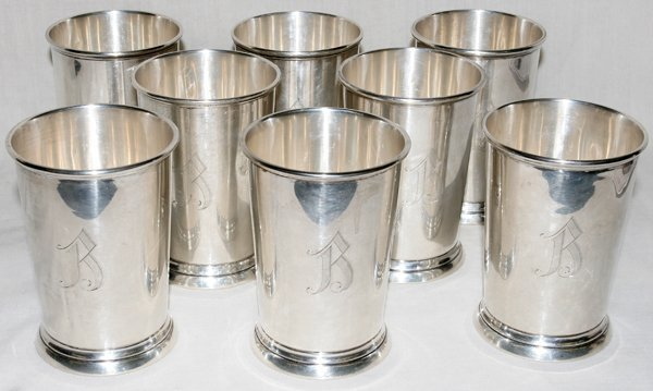 051013: ELLMORE SILVER CO. STERLING MINT JULEP CUPS