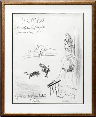 PABLO PICASSO (SPANISH 1881-1973), LITHOGRAPH,