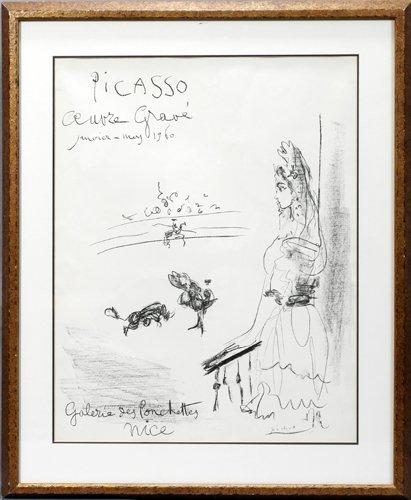 122004: PABLO PICASSO (SPANISH 1881-1973), LITHOGRAPH,
