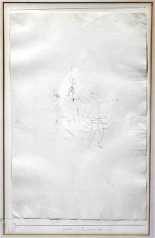 PAUL KLEE (SWISS 1879-1940), INK SKETCH, 1929,