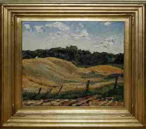 ZOLTAN L. SEPESHY (US 1898-1974), OIL ON CANVAS