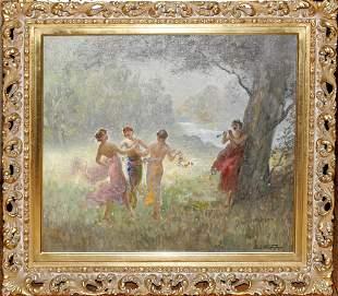CHARLES WALTENSPERGER (AMERICAN 1870-1931), OIL