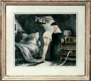 LOUIS ICART (FRENCH 1888-1950), HAND COLORED ET