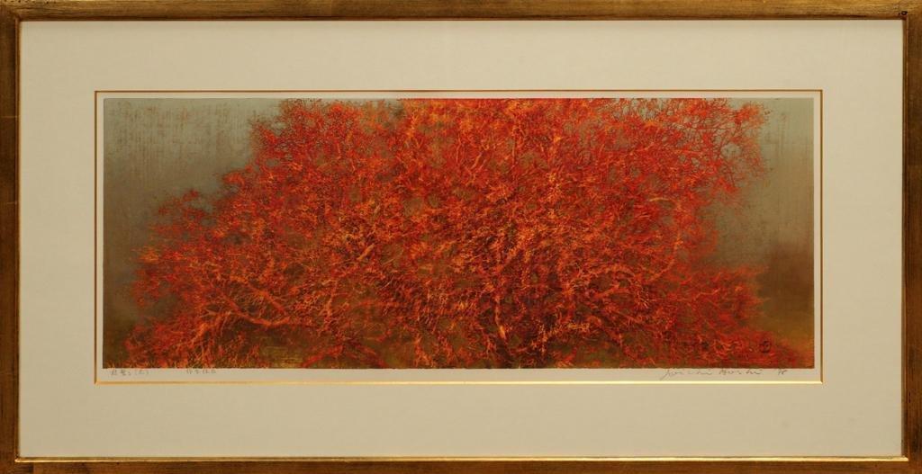 JOICHI HOSHI WOOD BLOCK PRINT,  1978