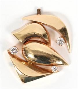 MATTHEW HOFFMAN GOLD DIAMOND EXTENDER
