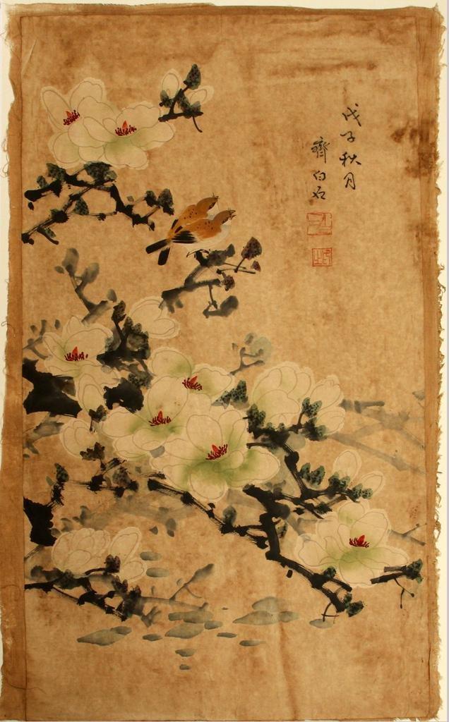 ATTR. QI BAISHI GOUACHE & INK ON PAPER