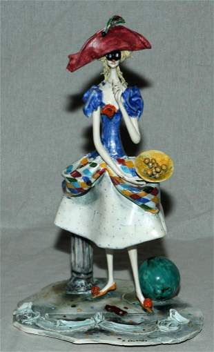 ADRIANO COLOMBO ART POTTERY SCULPTURE