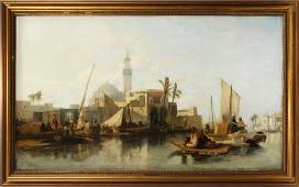 WILLIAM JAMES MULLER OIL ON CANVAS