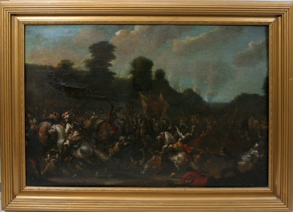 "072010: STYLE OF P. WOUWERMAN OIL ""BATTLE OF DUNE"""