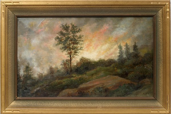 "072013: G. M. OTTINGER OIL ""FIRE-CITY CREEK CANYON"""