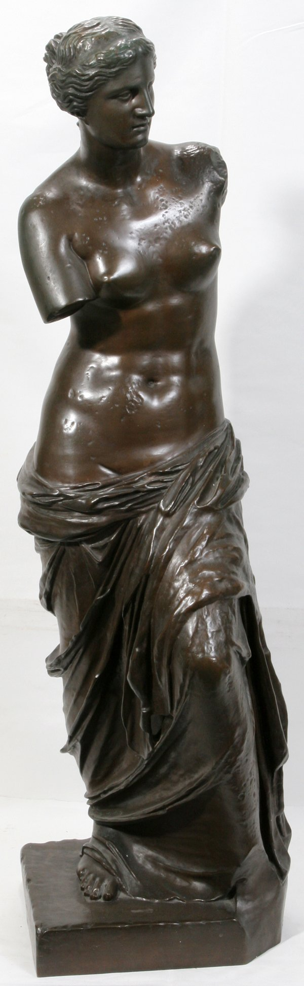 "072022: F. BARBEDIENNE BRONZE SCULPTURE, ""VENUS"""