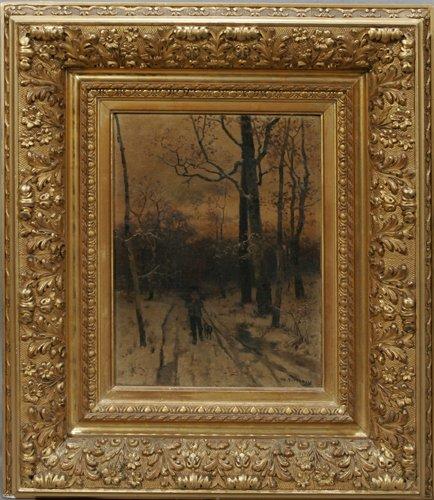 012003: WILLIAM STARBUCK MACY (AMERICAN 1853-1945), OIL