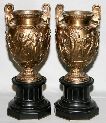 012005: F. BARBEDIENNE FONDEUR, FRENCH BRONZE AND MARBL