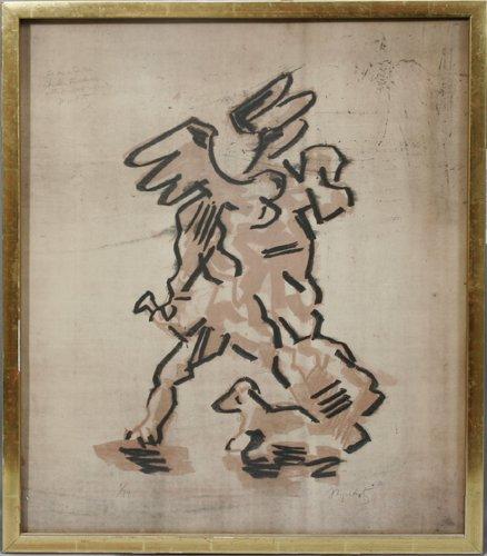012009: JACQUES LIPCHITZ (US 1891-1973), LITHOGRAPH, #1