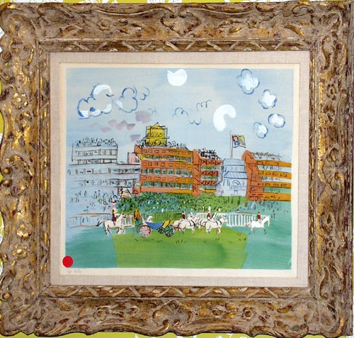 "012010: RAOUL DUFY (FRENCH 1877-1953), COLOR POCHOIR, """