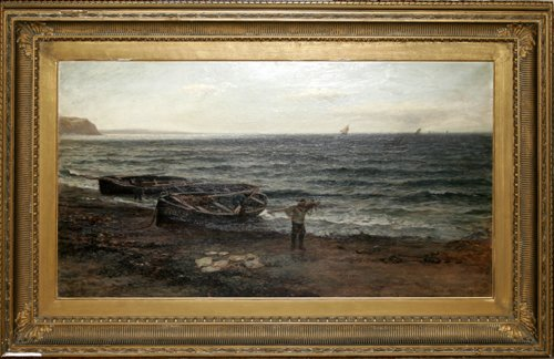 012011: COLIN HUNTER (SCOTTISH 1841-1904), OIL ON CANVA