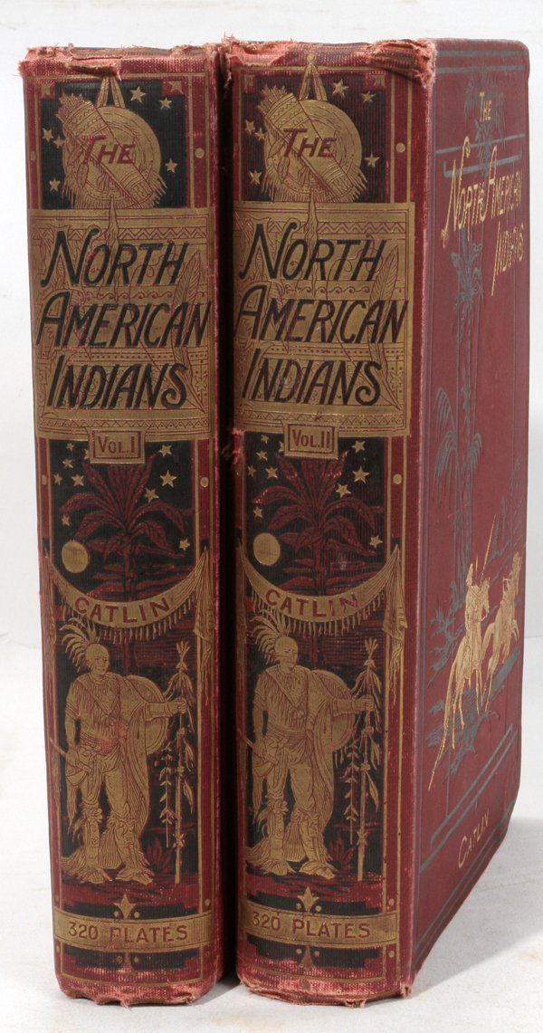 080017: G. CATLIN 'THE NORTH AMERICAN INDIANS' BOOKS