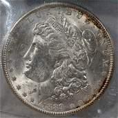 080286: U.S. MORGAN STERLING SILVER DOLLAR COIN