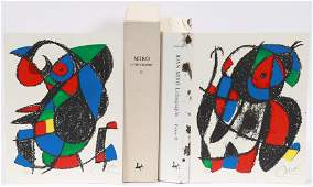 JOAN MIRO LITHOGRAPHS: VOLUME II, DELUXE EDITION