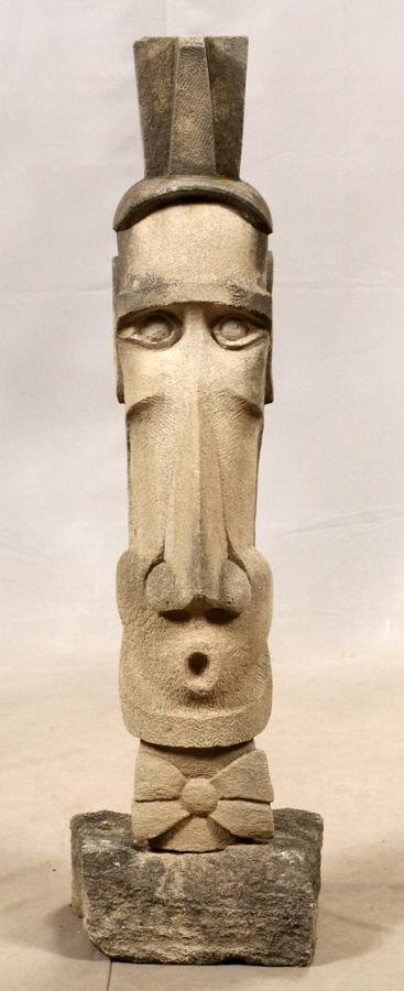CHRIS BERTI (CRANBROOK) STONE SCULPTURE