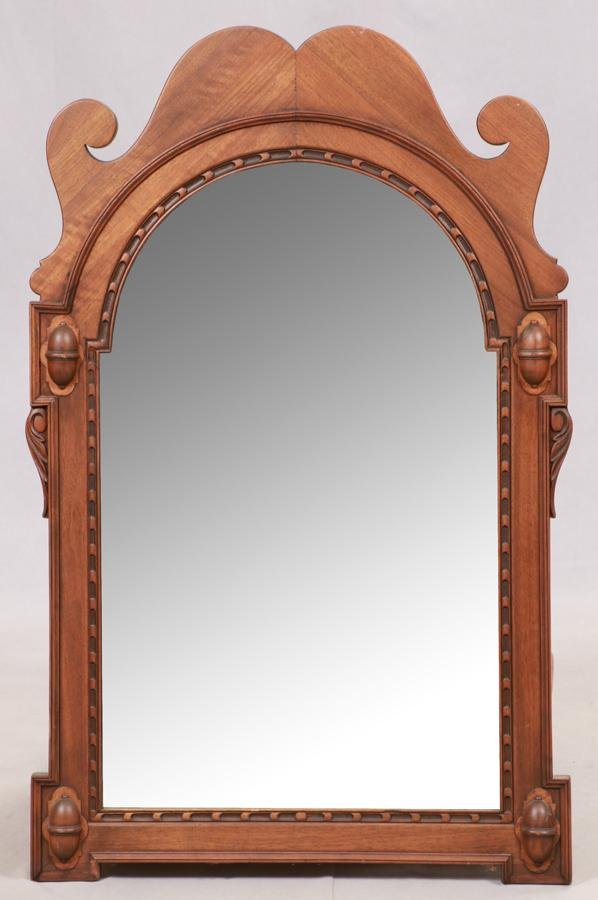 """KITTINGER CHIPPENDALE STYLE MIRROR, H 3'4"""" W 2'2"""""""