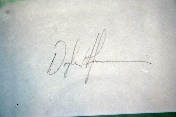 110063: DOUGLAS HOFMANN PRINTS SIGNED & NUMBERED - 4