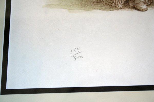 110063: DOUGLAS HOFMANN PRINTS SIGNED & NUMBERED - 7