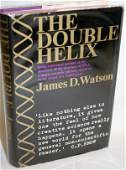 """110130: SIGNED JAMES D. WATSON """"THE DOUBLE HELIX"""""""