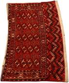 BOKHARA HAND WOVEN ALL WOOL SADDLE BAG C. 1900