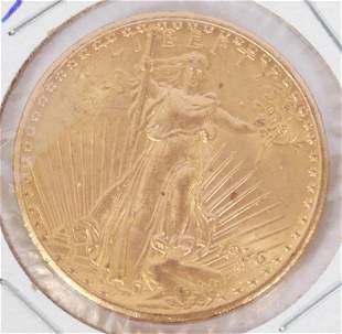 USA $20. AUGUSTUS SAINT-GAUDENS DESIGNER