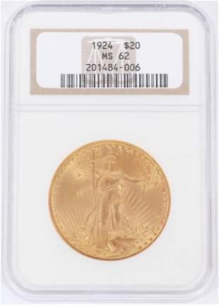 U.S. $20.DOLLAR GOLD COIN 1924