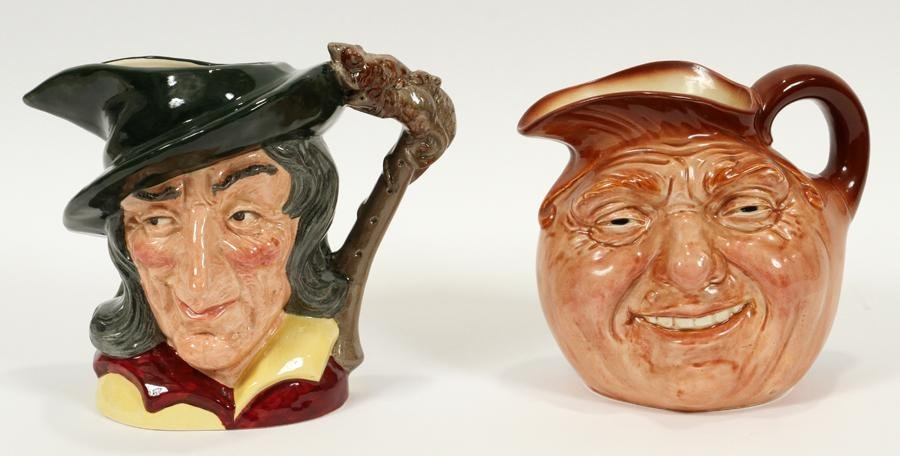 ROYAL DOULTON TOBY MUGS