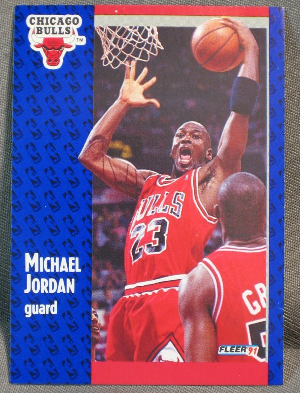 120064: BASKETBALL CARDS, MICHAEL JORDAN, M JOHNSON