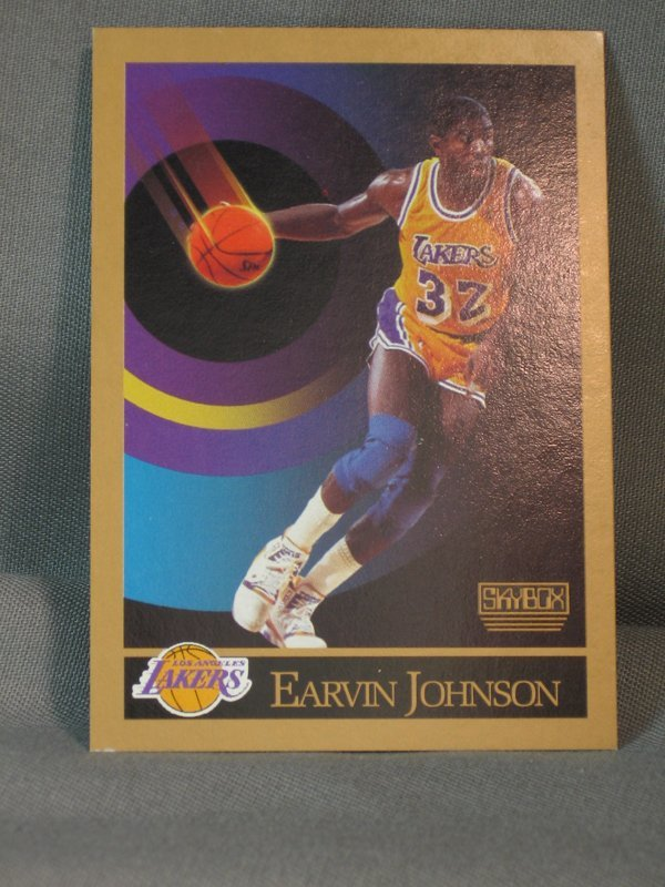 120064: BASKETBALL CARDS, MICHAEL JORDAN, M JOHNSON - 3