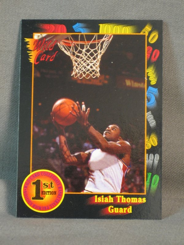 120064: BASKETBALL CARDS, MICHAEL JORDAN, M JOHNSON - 7
