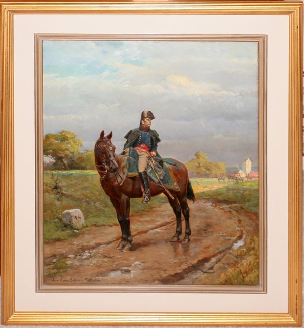 122003: JEAN JACQUES BERNE-BELLECOUR OIL SOLDIER
