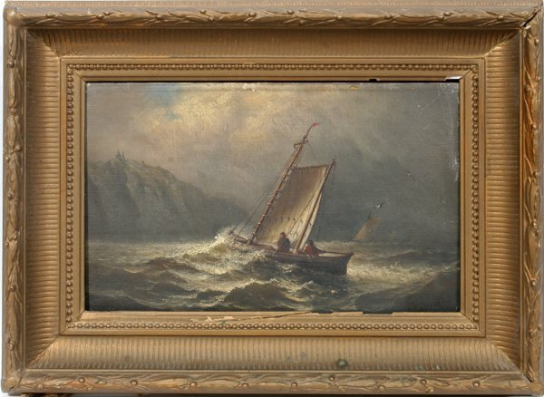 122046: CHARLES HENRY GIFFORD OIL ON CANVAS, C. 1875