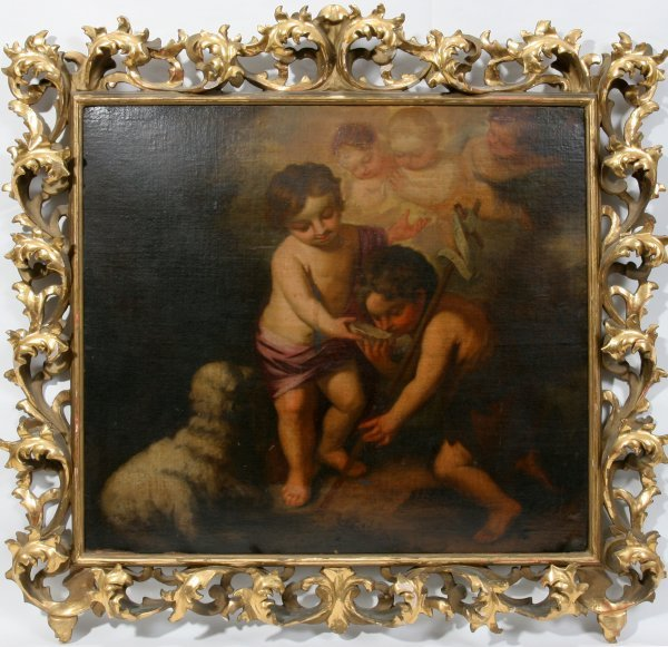 012011: AFTER MURILLO SAINT JOHN AND THE CHRIST CHILD