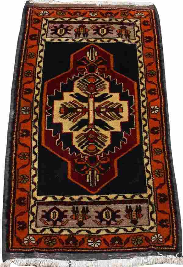 TURKISH HAND WOVEN WOOL ANATOLIAN MAT