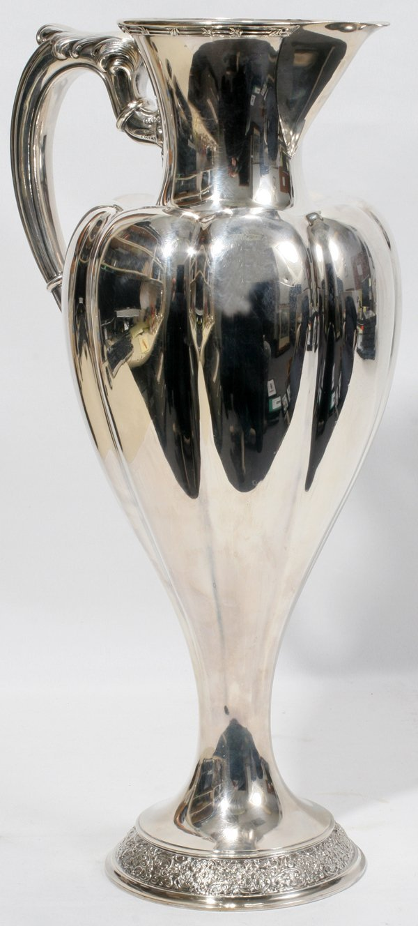 021003: TIFFANY & CO. STERLING PITCHER, 1892-1902