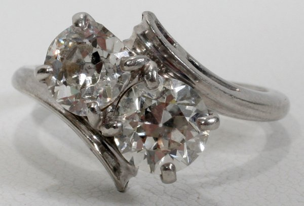 031017: PLATINUM & 1.85CT DIAMOND T.W. RING
